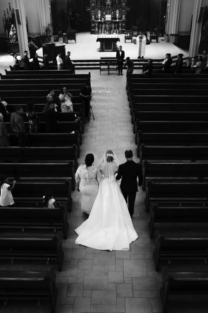 Cathedral of The Epiphany Wedding Sioux City Iowa